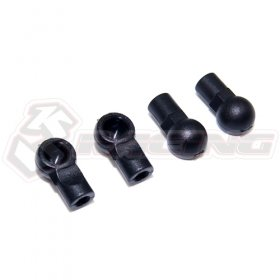 Sakura Mini MG RC CAR Damper Ball end For KIT-MINI MG #SAK-MG18 - 3Racing SAK-MG18A