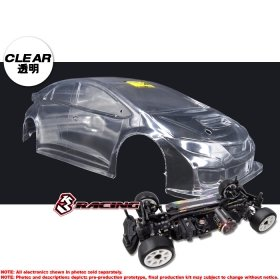 3racing Sakura 1/10 M Chassis 4WD 2018 & TCR Body Set - KIT-M4TCR/CL
