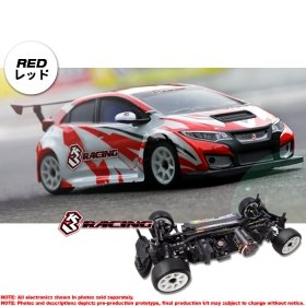 3racing Sakura 1/10 M Chassis 4WD 2018 & TCR Body Set - KIT-M4TCR/RE