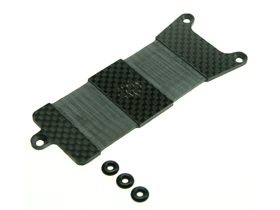Mugen Seiki MTX-4 Graphite Battery Tray - 3RACING MTX4-47/WO