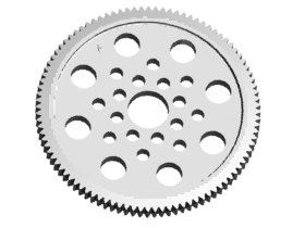 3RACING 48 Pitch Spur Gear 96T - 3RAC-SG4896