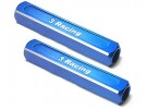 3RACING 13mm Droop Gauge Blocks (2 Pcs) - Blue - ST-003/BU