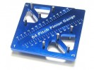 3RACING Pinion & Camber Gauge - Blue - ST-007/BU