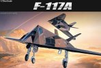 Academy 12475 - 1/72 F-117A Stealth Fighter (AC 2107)