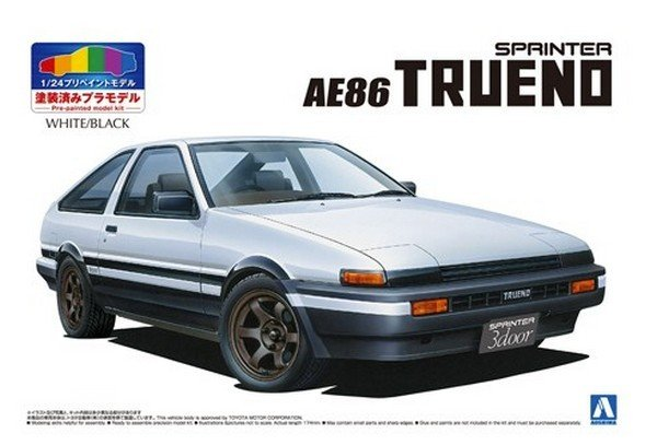 traxxas rc cars with Aoshima 05314 124 Toyota Ae86 Trueno 83 Whiteblack Pre Painted Model Nosp P 9357 on Project Traxxas Summit Crawler Build also 396616 additionally 1 10 Baukasten Formel1 Ferrari F60 F104 2wd P 52463 likewise Ts 1 Tamiya Acrylic Spray Paint Red Brown likewise Traxxas St ede 2wd 110 Brushed Monster Truck Pink Edition.