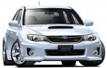 Aoshima 00490 - 1/24 GRB Impreza WRX STI 5Door 2010 (White Pearl) Pre Painted Model No.26