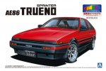 Aoshima 05315 - 1/24 Toyota AE86 Trueno '83 (Red/Black) Pre Painted Model No.SP
