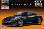 Aoshima #AO-00806 - 1/24 Pre-paint 29 NISSAN GT-R (R35) Pure Edition 2012 (Meteor Flake Black Pearl)
