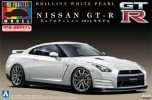 Aoshima #AO-00807 - 1/24 Pre-Paint 30 NISSAN GT-R (R35) Pure Edition 2012 (Brilliant White Pearl)