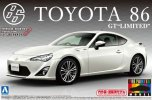 Aoshima AO-01005 - 1/24 TOYOTA 86 '12 GT-Limited (Satin White Pearl) Pre Painted Model