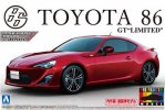 Aoshima AO-01006 - 1/24 TOYOTA 86 '12 GT-Limited (Lightning Red) Pre Painted Model