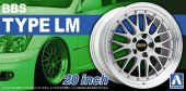 Aoshima 05275 - 1/24 BBS Type LM 20 Inch Wheels and Tires No.25