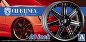 Aoshima 05278 - 1/24 Club Linea L612 20 Inch The Tuned Parts No.28
