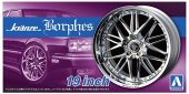 Aoshima 05528 - Kranze Borphes 19inch Wheels and Tires The Tuned Parts No.86