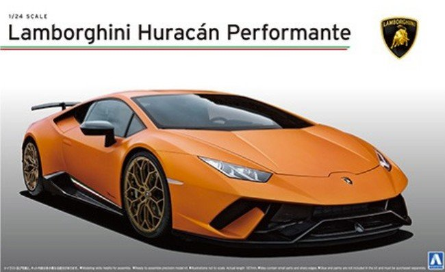 Aoshima 05600 - 1/24 Lamborghini Huracan Performante Super Car No.27