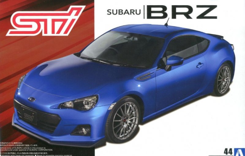 Aoshima 05453 - 1/24 STI ZC6 Subaru BRZ 2012 The Tuned Car No.44