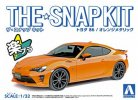 Aoshima 05419 - 1/24 Toyota 86 (Orange Metallic) The Snap Kit No.03-B