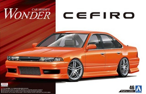 Aoshima 05513 - 1/24 Nissan Wonder A31 Cefiro 1990 The Tuned Car No.46