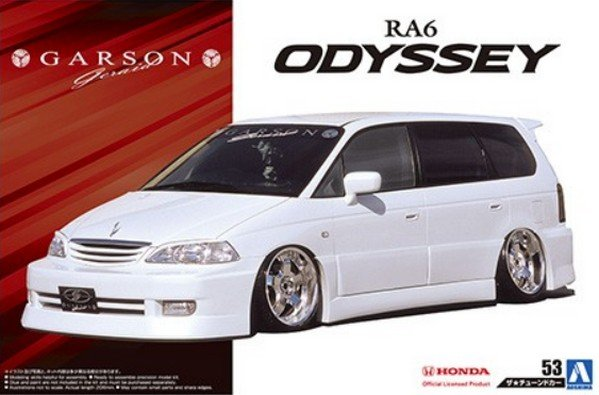 Aoshima 05575 - 1/24 Garson Geraid RA6 Odyssey \'01 (Honda) The Tuned Car No.53