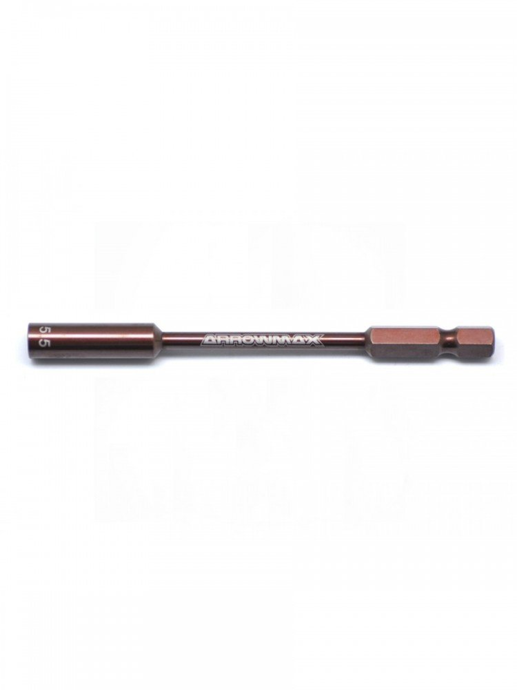 Arrowmax NUT DRIVER 5.5 X 100MM POWER TIP ONLY