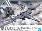 Bandai 5059549 - 30mm 1/144 Extended Armament Vehicle (Air Fighter Ver.)(Gray) 02