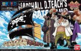 Bandai B-200637 - One Piece Grand Ship Collection No.11 Marshall D. Teach Pirate Ship