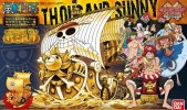 Bandai 207582 - Thousand Sunny Film Gold One Piece Grand Ship