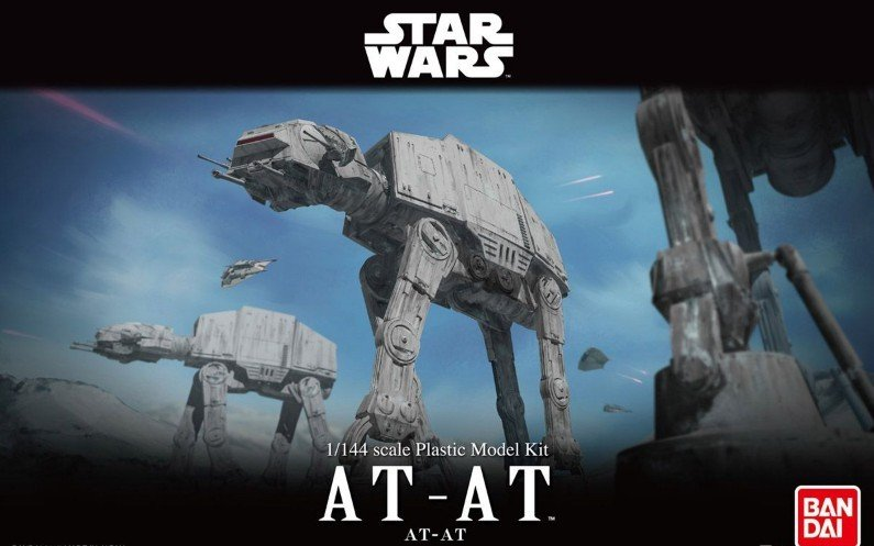 Bandai B-214476 - 1/144 Star Wars AT-AT