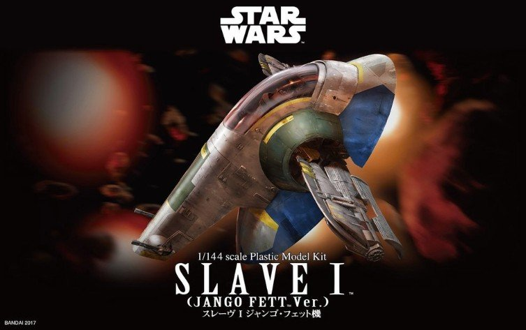 Bandai 215637 - Star Wars 1/144 Slave I (Jango Fett Version)