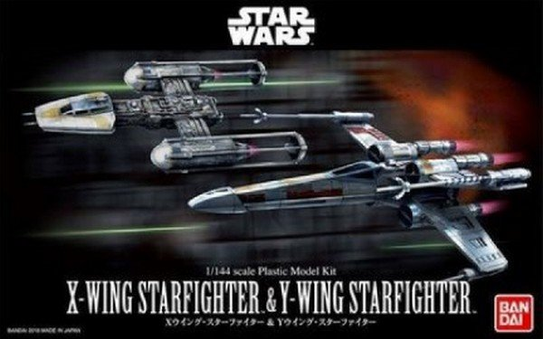 Bandai 228377 - 1/144 X-Wing Starfighter & Y-Wing Starfighter