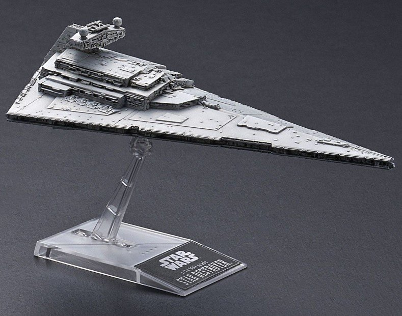 Star Wars Super Star Destroyer /& Star destroyer Bandai  5057712 neu 2020