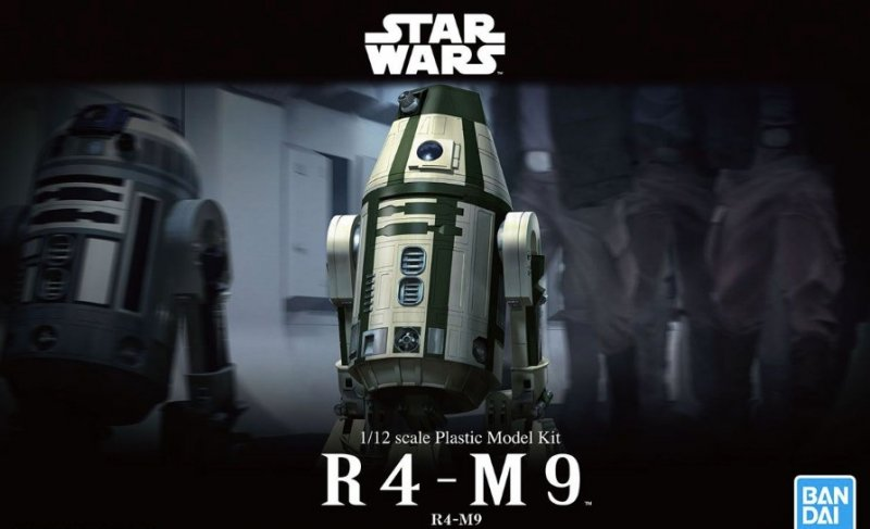 Bandai 5057845 - 1/12 R4-M9 (Star Wars)
