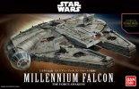 Bandai B-202288 - Star Wars 1/144 Millennium Falcon - The Force Awakens Version