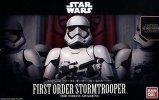 Bandai 203217 - Star Wars 1/12 First Order Storm Trooper - The Force Awakens Version