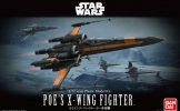 Bandai 210500 - 1/72 Poe's X-Wing Fighter Star Wars