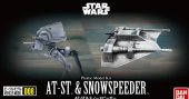 Bandai 215632 - AT-ST & Snowspeeder Vehicle Model 008