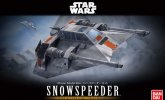 Bandai 217734 - 1/48 Snowspeeder (1/48 & 1/144 Scale 2 Model Kits Set) Star Wars
