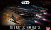 Bandai 219752 - 1/12 Poe's Boosted X-Wing Fighter Star Wars