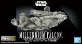 Bandai 5055704 - Vehicle Model 015 Millennium Falcon (STAR WARS: THE Empire Strikes BACK)
