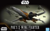 Bandai 5058312 - 1/72 Poe's X-Wing Fighter (Star Wars: The Rise of Skywalker)