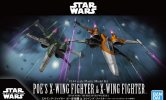 Bandai 5059231 - 1/144 Poe's X-Wing Fighter & X-Wing Fighter Star Wars: The Rise of Skywalker