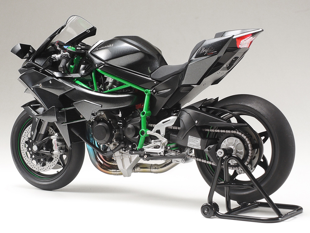 tamiya 21160 1 12 scale kawasaki ninja h2r masterwork collection finished model 4950344211609 ebay. Black Bedroom Furniture Sets. Home Design Ideas