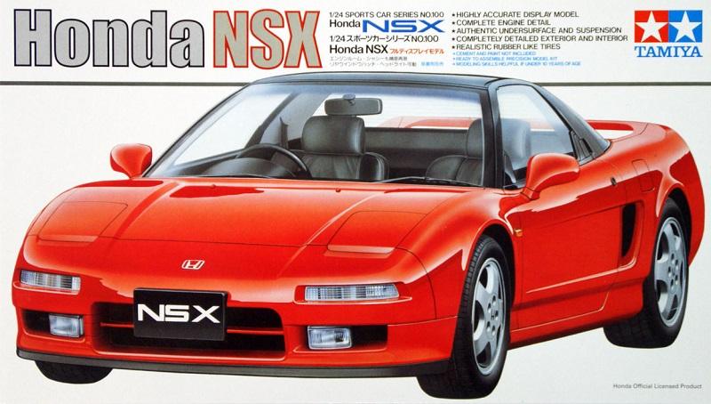 Tamiya 24100 1 24 Scale Model Sports Car Kit Honda Acura NSX