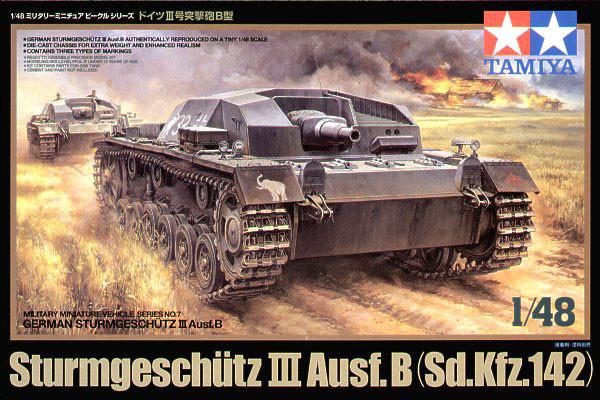 B Art: Tamiya 32507 1/48 Scale Model Kit German Assault Gun