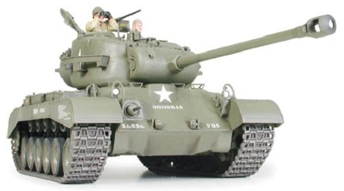 Tamiya 35254 1  35 Scale Military Model Kit U S Medium Tank M26 Pershing T26e3