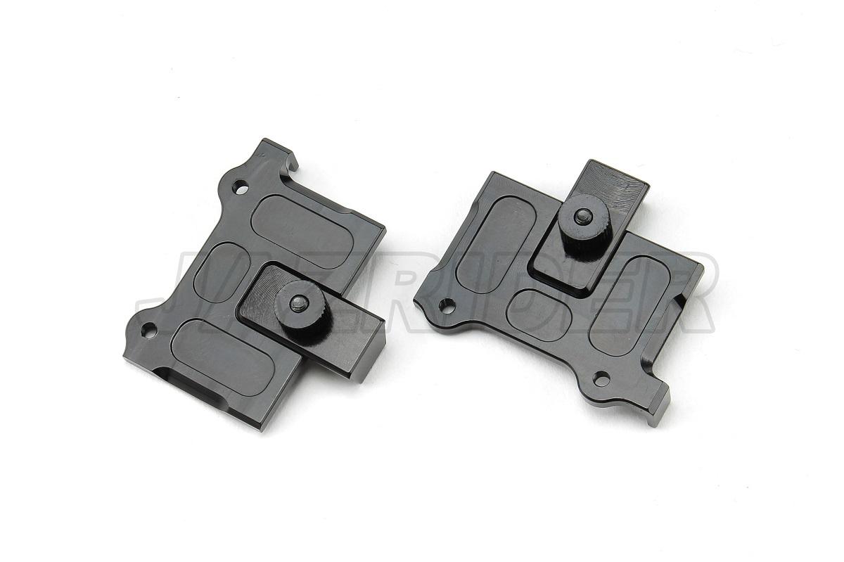 For Kyosho Optima//Javelin RC Buggy Jazrider Aluminum Battery Holder Mount Black