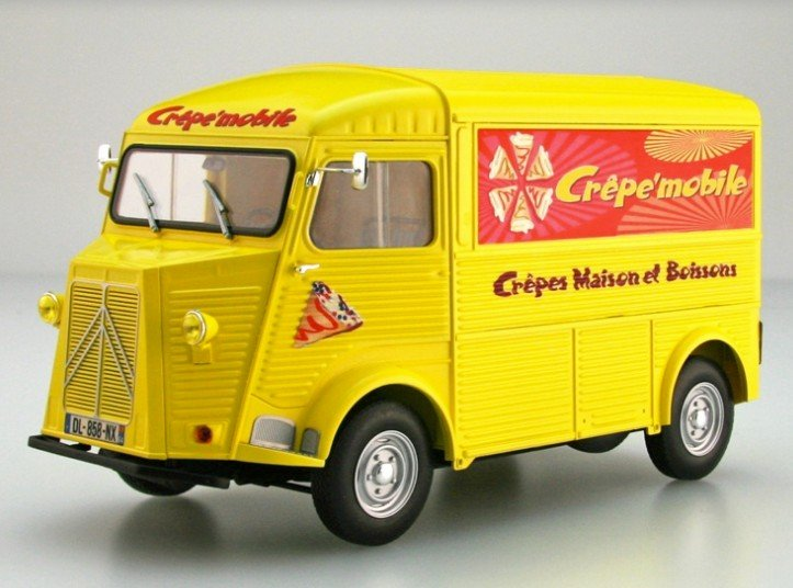 Ebbro 25010 - 1/24 Citroen H Crepe Mobile Type