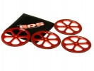 EDS 181012 - ALU SET-UP WHEELS 1/10 (4)