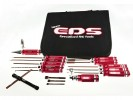 EDS 290914 - COMBO TOOL SET FOR 1/8 BUGGY WITH TOOL BAG - 16 PCS.