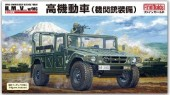 Fine Molds FM41 JGSDF HMV High Mobility Vehicle W/MG and 2 Figures